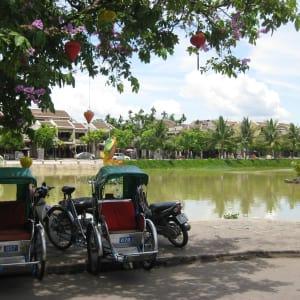 Découverte active du centre du Vietnam de Hué: Hoi An: rickshaws
