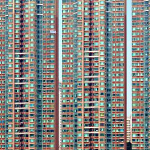 Glanzlichter Chinas mit dem Zug ab Peking: Hong Kong Apartment Building