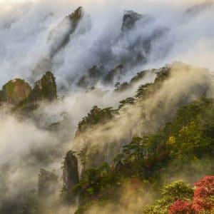 Huang Shan - der gelbe Berg ab Shanghai: Huangshan