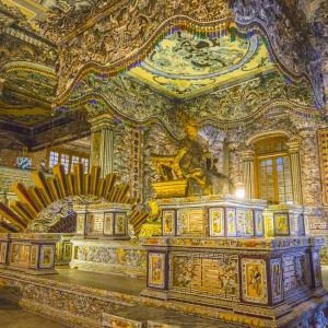 Vietnam für Geniesser ab Hanoi: Hue Khai Dinh Emperor's Mausoleum
