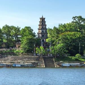 Glanzlichter Vietnam - von Saigon nach Hanoi: Hue Thien Mu Pagoda