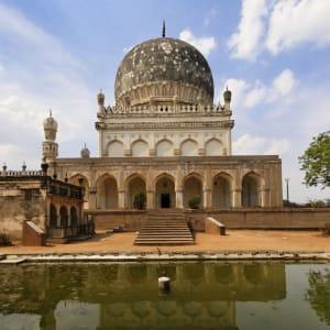 «The Deccan Odyssey» - Die Juwelen des Dekkans ab Mumbai: Hyderabad Hayath Bakshi Begum Tomb 001