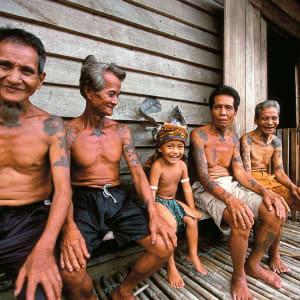 Les hauts lieux de Bornéo de Kuching: Ibans