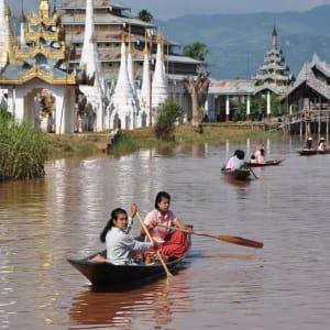Le pays doré de Yangon: Inle Lake