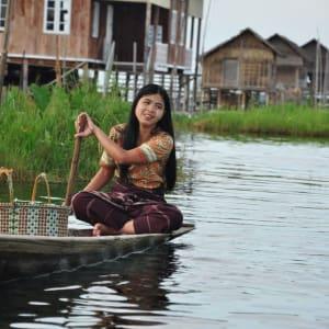 Mythes et légendes du Myanmar de Yangon: Inle Lake