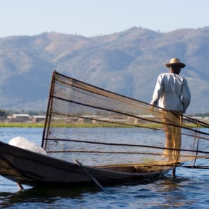 Faszination Myanmar - Ein Land im Wandel ab Yangon: Inle Lake fisherman