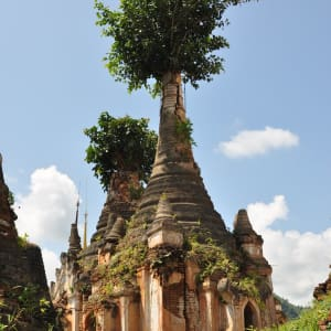 Myanmar - Land der Tempel und Pagoden ab Mandalay: Inle Lake Inn Thein Pagodas