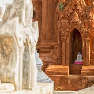 Tour à vélo à travers le pays doré de Yangon: Inle Lake Shwe Indein Pagoda