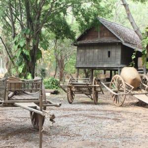 I-San - le trésor caché / BKK-Siem Reap de Bangkok: Isaan traditional life