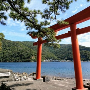 Izu Peninsula Mietwagenrundreise ab Tokio: Izu Peninsula on the Beach
