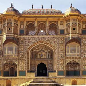 L'Inde pour les fins connaisseurs de Delhi: Jaipur: Amber Fort