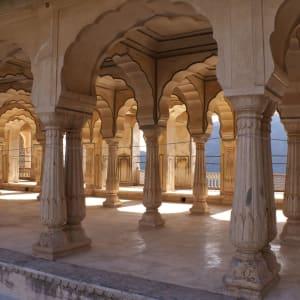 Höhepunkte Rajasthans ab Delhi: Jaipur: Amber Fort