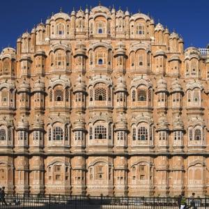 Indien für Geniesser ab Delhi: Jaipur Hawa Mahal Palace of Winds