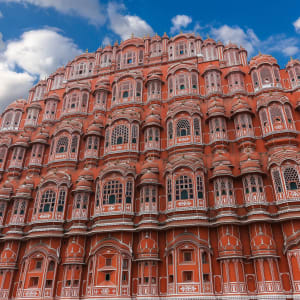 «The Deccan Odyssey» - Die Glanzlichter Rajasthans ab Mumbai: Jaipur Hawa Mahal Palace of Winds