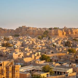 Höhepunkte Rajasthans ab Delhi: Jaisalmer: an indian fairytale