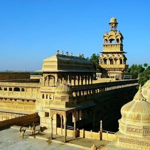 Höhepunkte Rajasthans ab Delhi: Jaisalmer: Palace