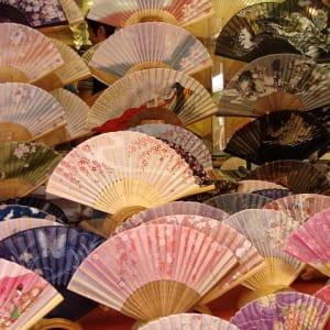 Circuit en groupe «Fuji» de Kyoto: Japan Ogi / Sensu Fan