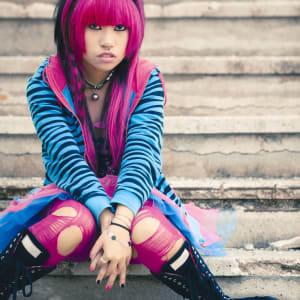 Circuit en groupe «L'éclat du Japon» de Tokyo: Japan: Punk Girl