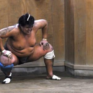 Contrastes du Japon de Tokyo: Japan: Sumo training session