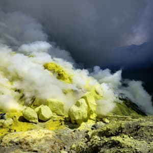 Java-Bali Kompakt ab Yogyakarta: Java Mount Ijen Patrick Loertscher