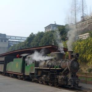 Avec le train du Tibet sur le toit du monde de Pékin: Jiayang Railway