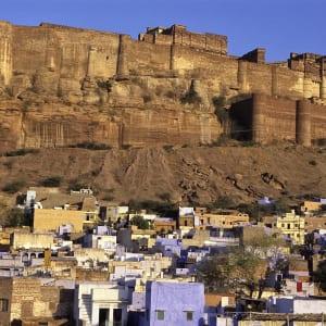 Palastromantik und Wüstenzauber ab Jodhpur: Jodhpur: City & Fort Mehrangarh