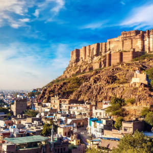 «The Deccan Odyssey» - L'éclat du Rajasthan de Mumbai: Jodhpur Mehrangarh Fort
