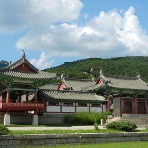Grand circuit en Corée du Nord de Pyongyang: Kaesong Buddhist Temple Ryongtong