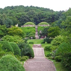Nordkorea Kompakt ab Pyongyang: Kaesong Hyonjongrung Royal Tomb