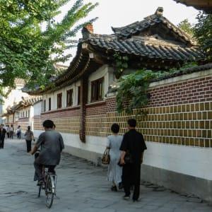 Nordkorea Kompakt ab Pyongyang: Kaesong old part of the city