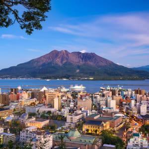 Vielfältiges Japan ab Tokio: Kagoshima with Sakurajima Volcano