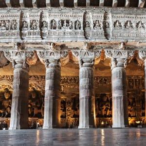 «The Deccan Odyssey» - Die Juwelen des Dekkans ab Mumbai: Kailas Temple in Ellora
