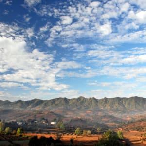 Découverte active du Myanmar de Yangon: Kalaw: impressive landscape