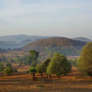 Découverte active du Myanmar de Yangon: Kalaw landscape