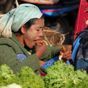 Randonnées dans le pittoresque Etat Shan (3 jours) de Lac Inle: Kalaw market