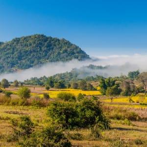 Découverte active du Myanmar de Yangon: Kalaw Rural landscape