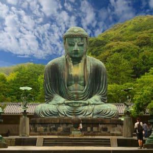 Gruppenreise «Im Reich der Sonnengöttin» ab Kyoto: Kamakura Buddha Statue