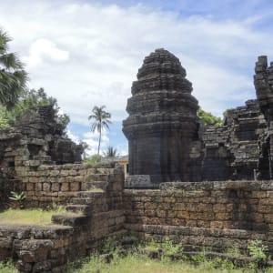 Von Angkor nach Phu Quoc ab Siem Reap: Kampong Thom - Kouk Nokor Temple