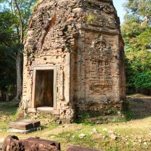 Traversée de Phnom Penh à Angkor: Kampong Thom - Sambor Prei Kruk Temple