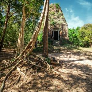 Voyage d'Angkor à Saigon de Siem Reap: Kampong Thom - Sambor Prei Kruk temple