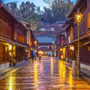 Höhepunkte Japans ab Tokio: Kanazawa Higashi Chaya District