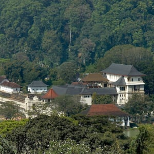 Les hauts lieux du Sri Lanka de Colombo: Kandy: Dalada Maligawa