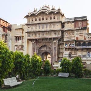 La féerie du Rajasthan de Delhi: Karauli Palace