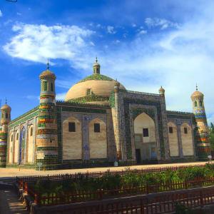 Sur les traces de Marco Polo le long de la route de la Soie de Pékin: Kashgar The Tomb of Afaq Khoja