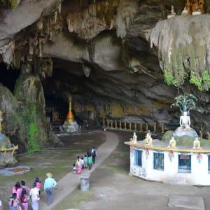 Voyage au Rocher d'Or  (traversée de Bangkok à Yangon): Kayin State: Sadan Caves