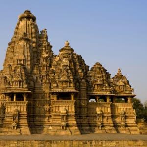 Reise zum heiligen Ganges ab Delhi: Khajuraho: old temples