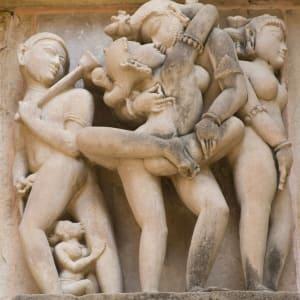 Reise zum heiligen Ganges ab Delhi: Khajuraho: Western Group Temples