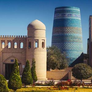 Sur les traces de Marco Polo le long de la route de la Soie de Pékin: Khiva