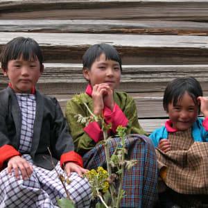Au pays du Dragon tonnerre de Paro: Kids in Bhutan