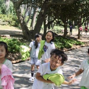 Vielfältiges Südkorea ab Seoul: Kids in Park